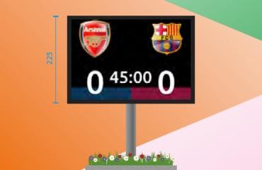 LED scorebord